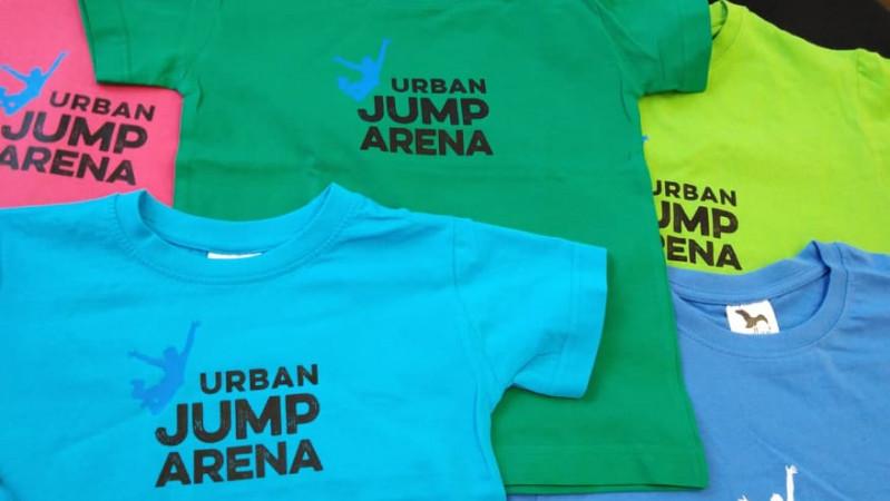Tričko Urban Jump Aréna